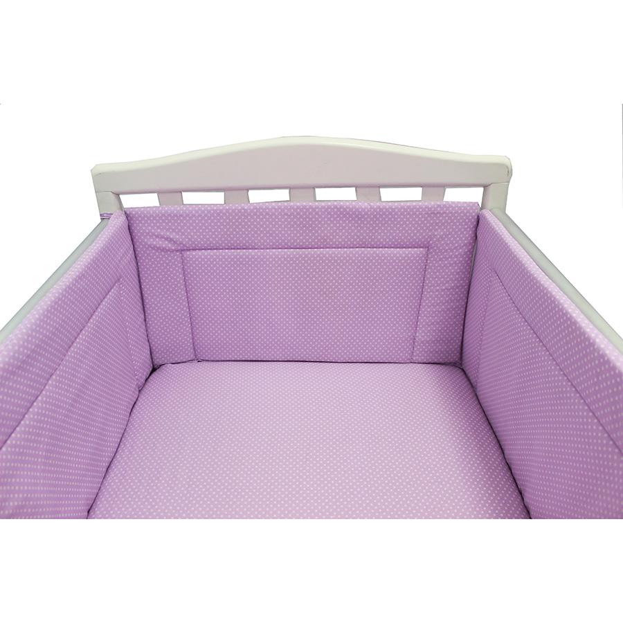 Бортик Bambola в кроватку Карамельки Сиреневый<br>