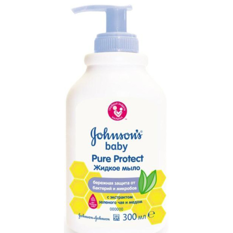 Мыло для рук Johnson&amp;#039;s baby Baby Pure Protect 300 мл<br>