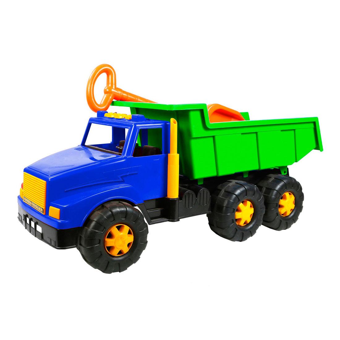 Автомобиль RT ОР795 МАГ BIG Большая лопата Синий с Зеленым<br>