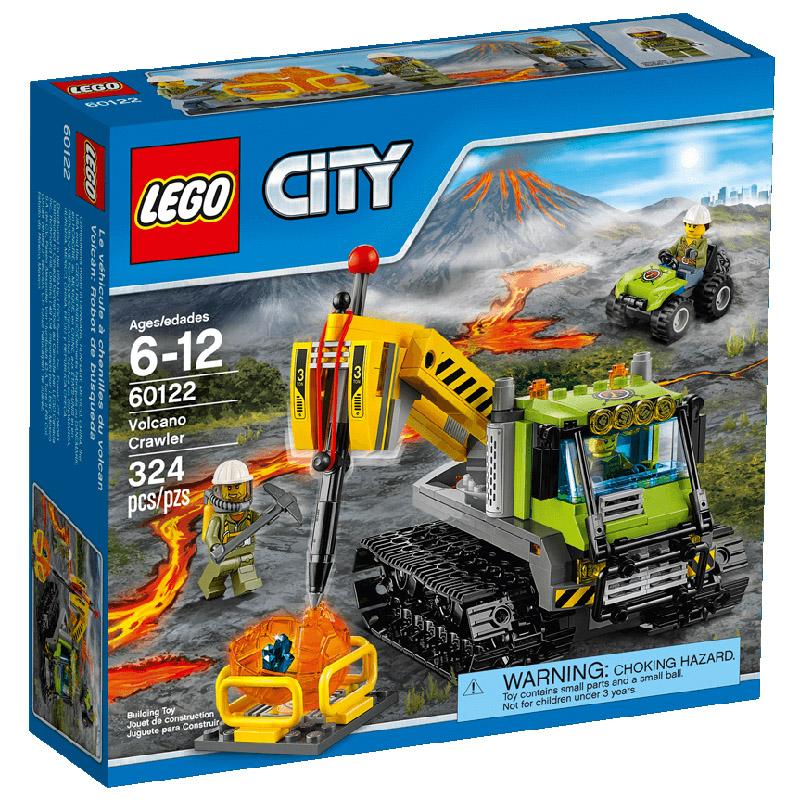 Конструктор LEGO City 60122 Вездеход исследователей вулканов<br>