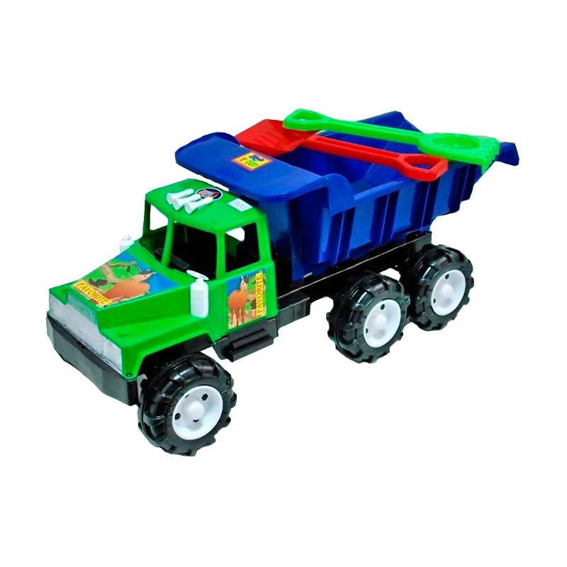 Машина RT Фаворит 100 МАХ 08-806 Лопата и грабли Зеленый с синим<br>