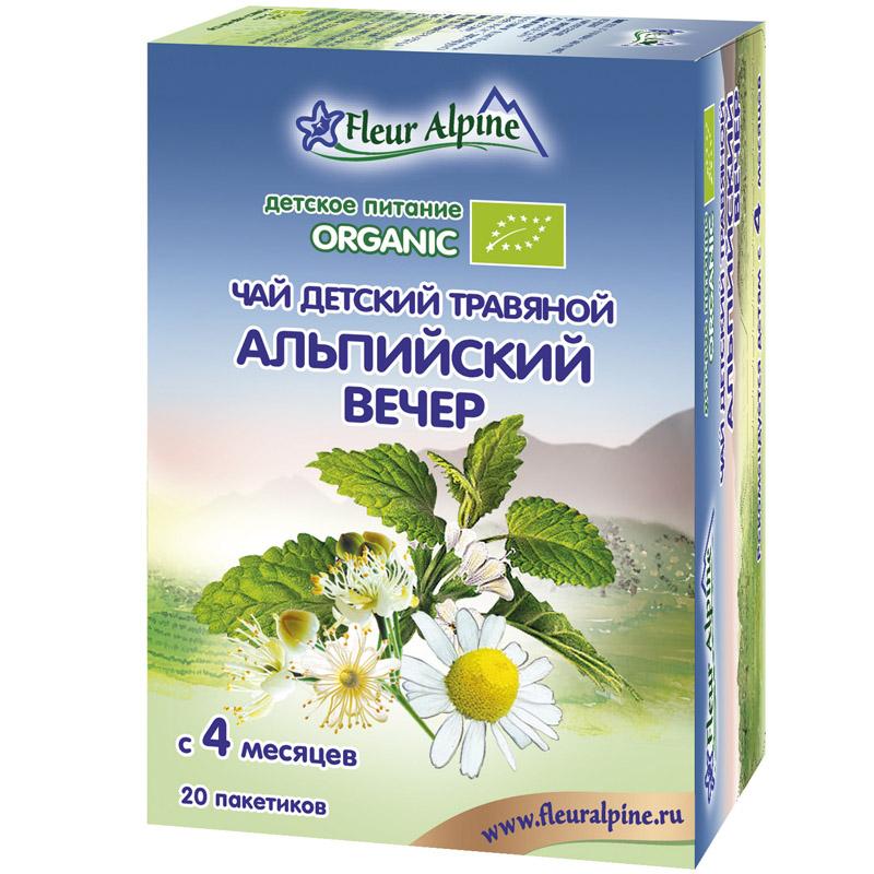 ��� ������� Fleur Alpine Organic 20 �� (20 ���������) ���������� ����� (� 4 ���)