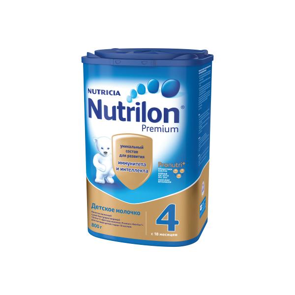 Заменитель Nutricia Nutrilon Premium 800 гр №4 (с 18 мес)<br>