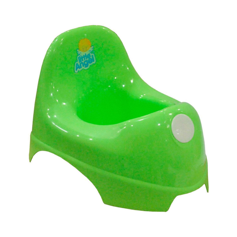 Горшок детский Little Angel зелёный<br>