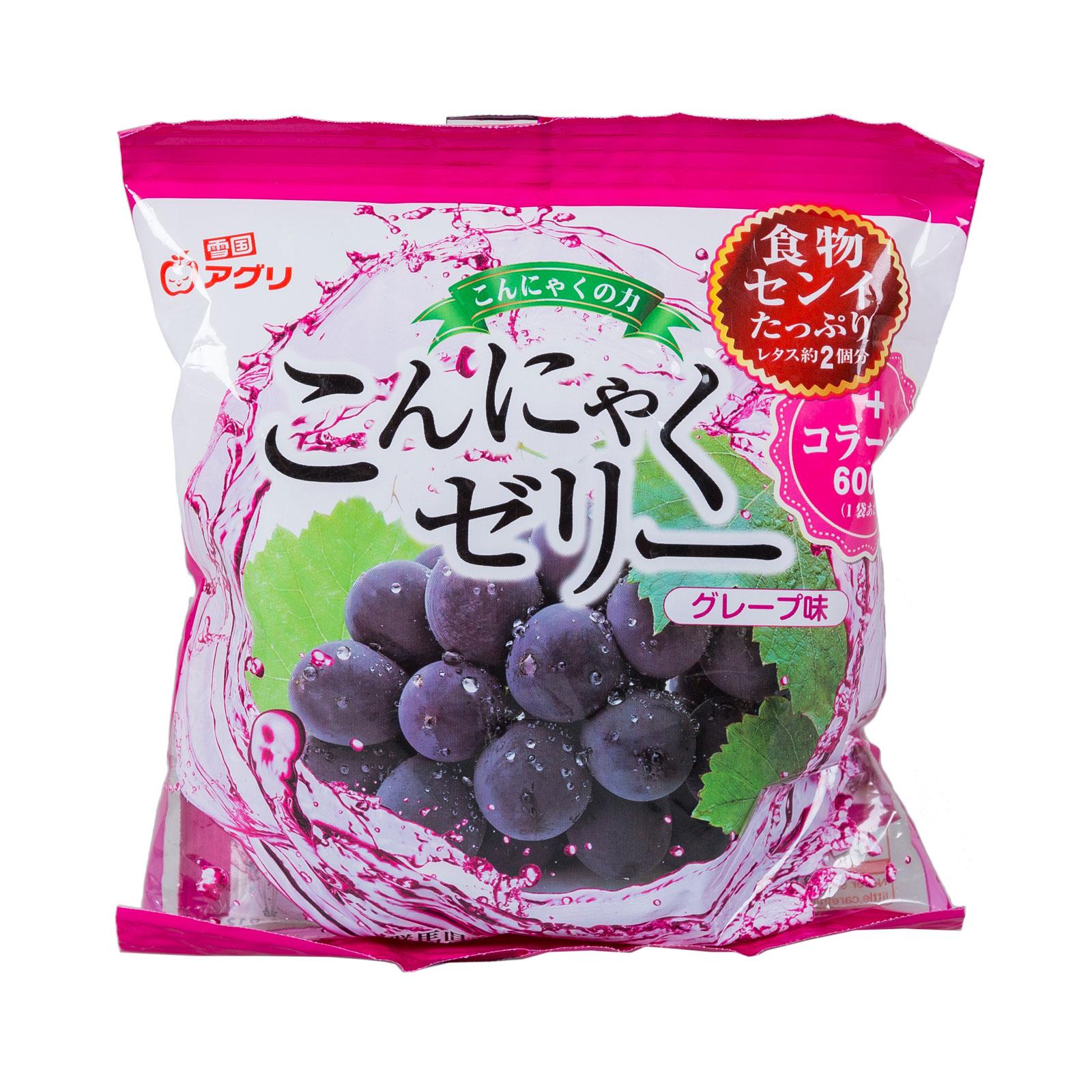 Желе Ukiguniagur конняку 115 гр С соком винограда порционное (с 3 лет)<br>