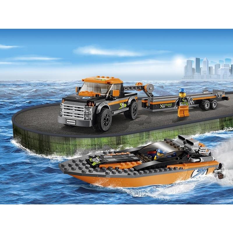 ����������� LEGO City 60085 ����������� 4x4 � �������� �������