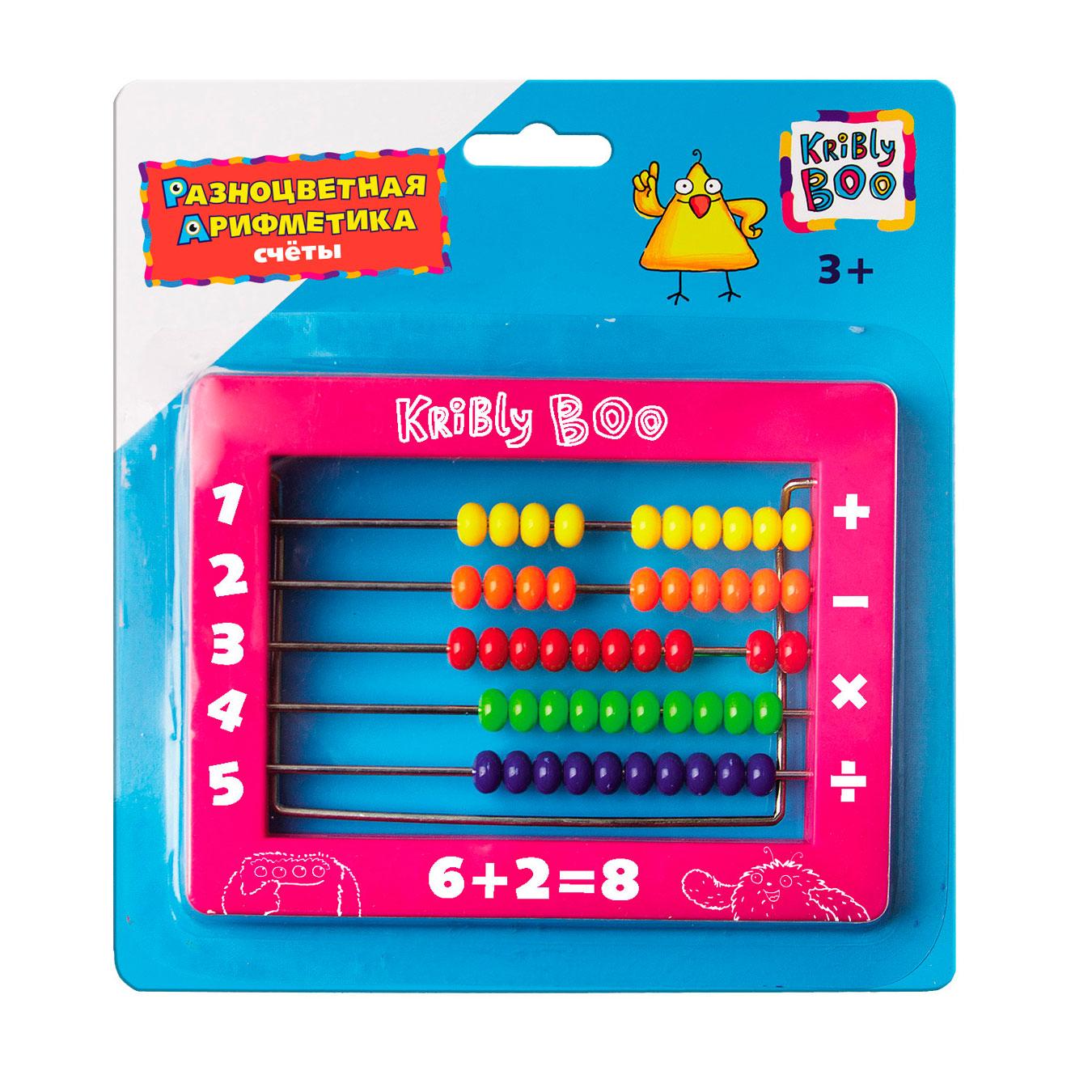 Счеты Kribly Boo Разноцветная арифметика