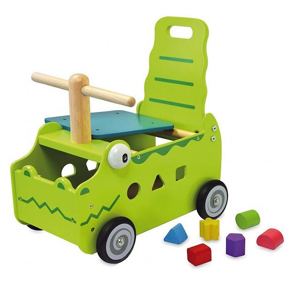 Сортер-каталка I`m Toy Крокодил<br>