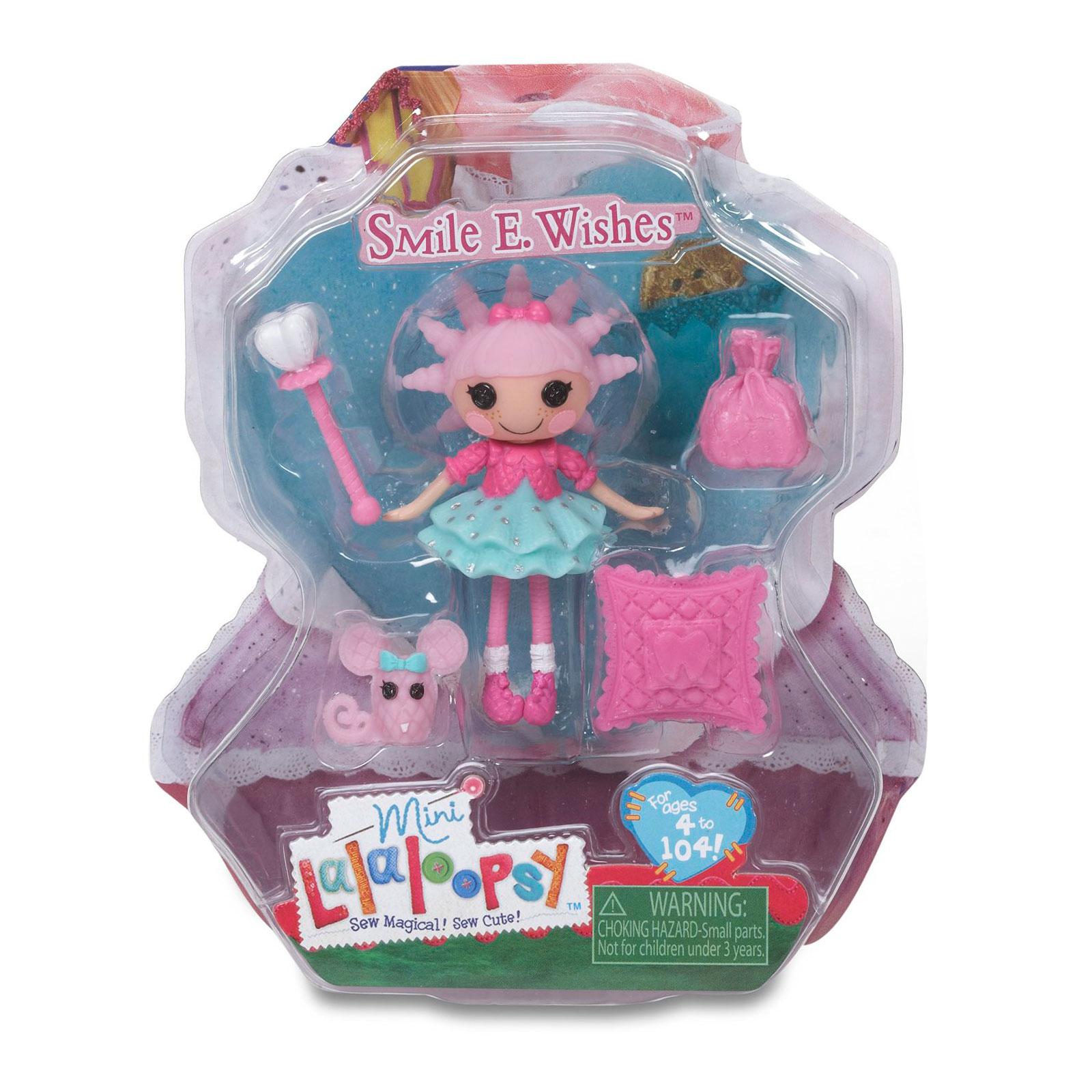Кукла Mini Lalaloopsy с аксессуарами Smile E. Wishes