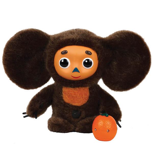 Мягкая игрушка Мульти-пульти Чебурашка с апельсином 30 см