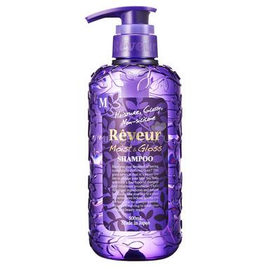 Шампунь Reveur 500 мл Moist&Gloss (Увлажнение и Блеск)