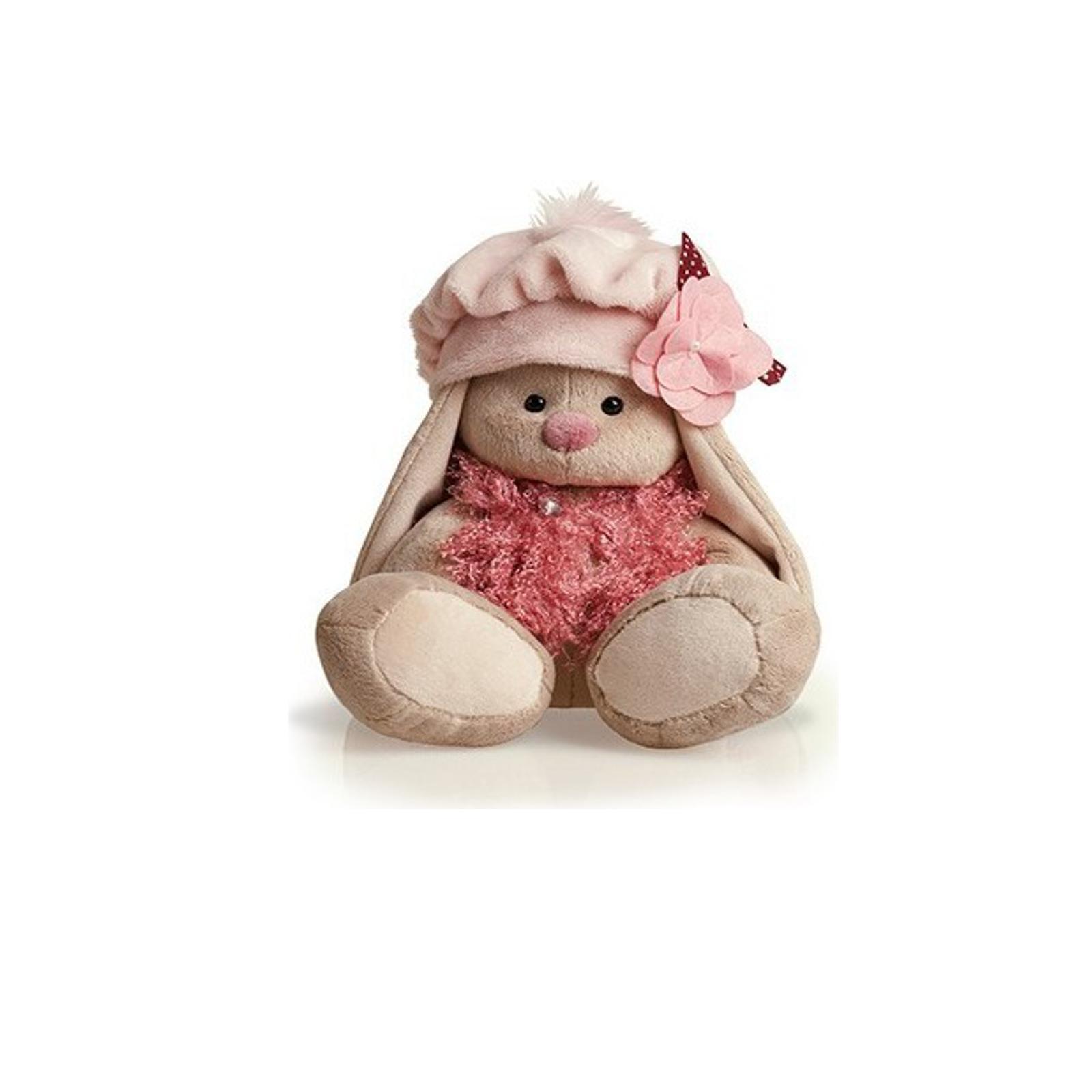 Мягкая игрушка Зайка Ми в беретке 18 см
