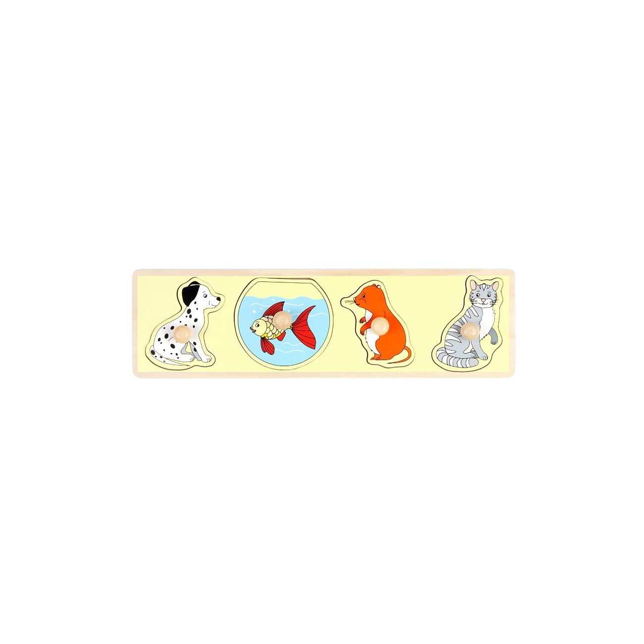 Рамка-вкладыш Маленький гений Животные (4307)