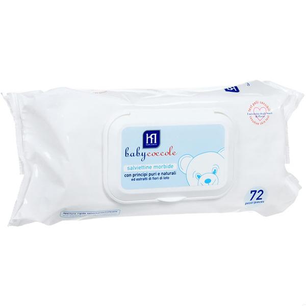 Салфетки влажные Babycoccole гипоаллергенные (с 0 мес) 72 шт