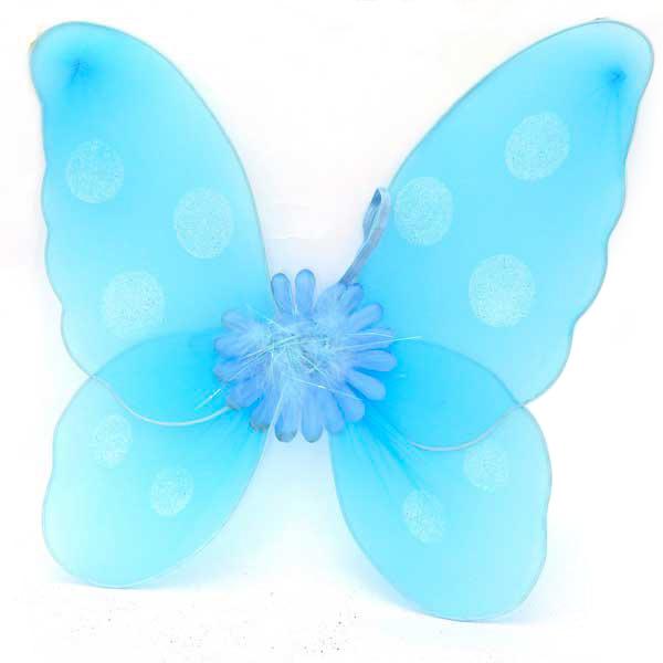 Крылья карнавальные Winter Wings Бабочка 45 см (в ассортименте 4 цвета)<br>