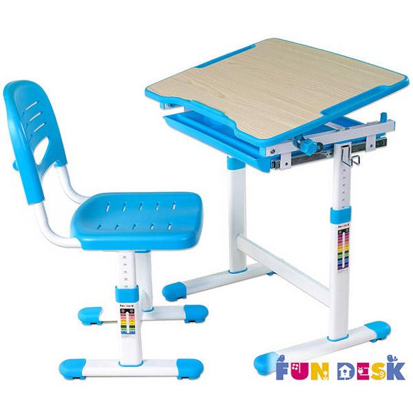 Набор мебели FunDesk PICCOLINO парта и стул Blue<br>