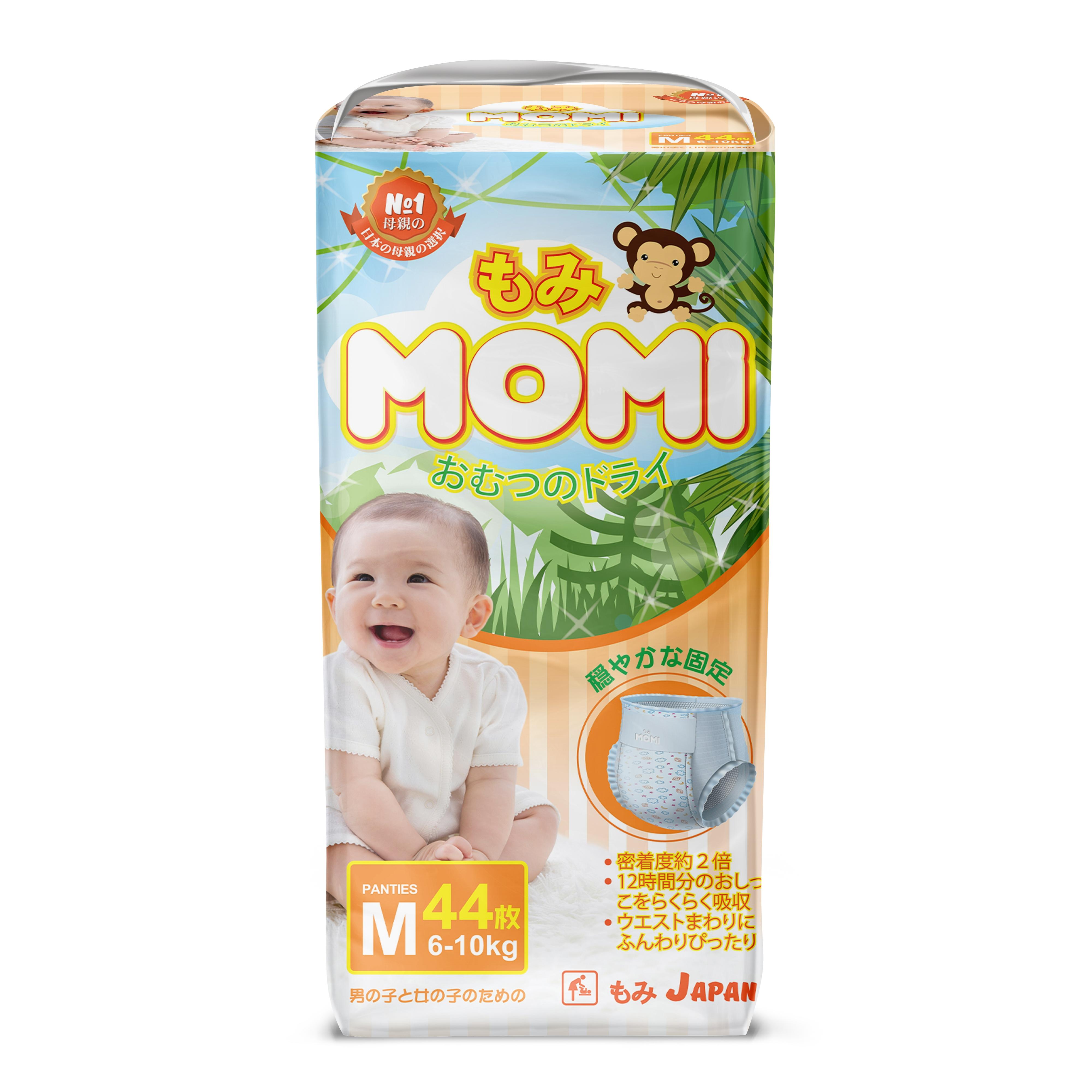 Tрусики Momi 6-10 кг (44 шт) M<br>