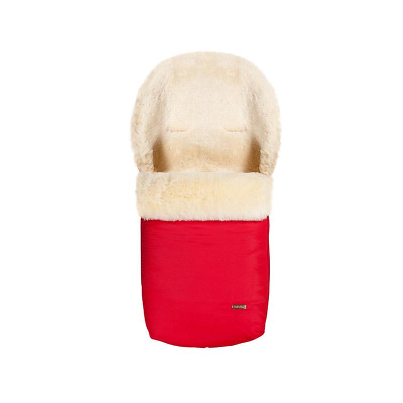 Конверт Mansita Mini овчина Красный<br>