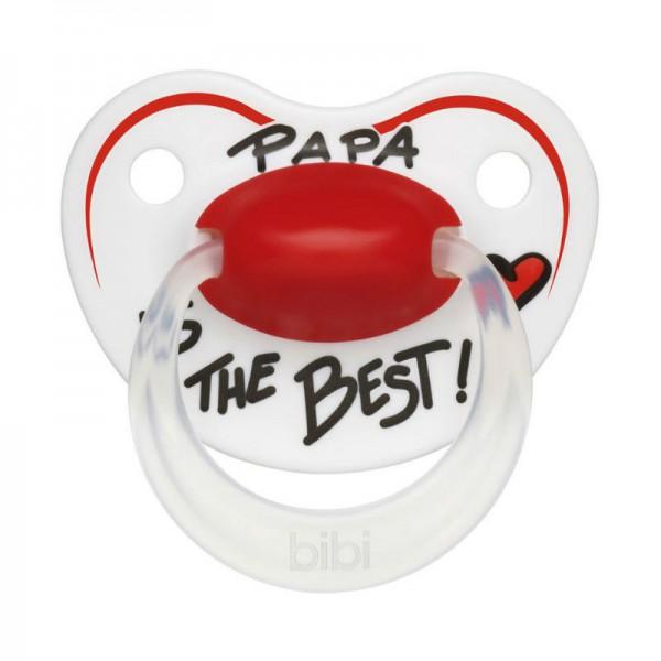 Пустышка Bibi Premium Dental Happiness Papa с 6 до 16 мес<br>
