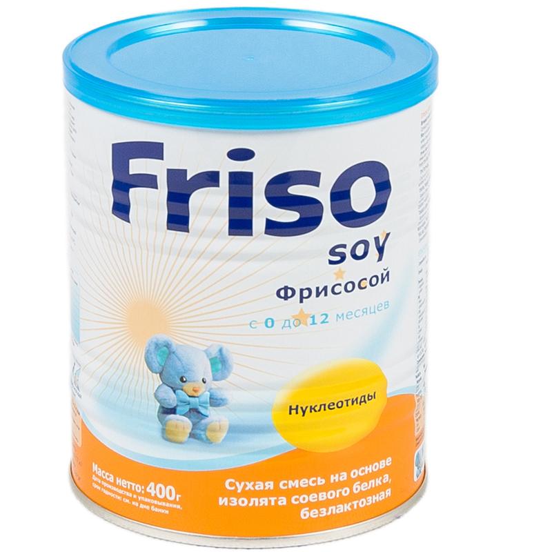 Заменитель Friso Фрисосой 400 гр с 0 мес<br>