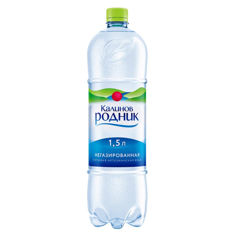 Вода Калинов Родник минеральная природная негаз 1,5 л