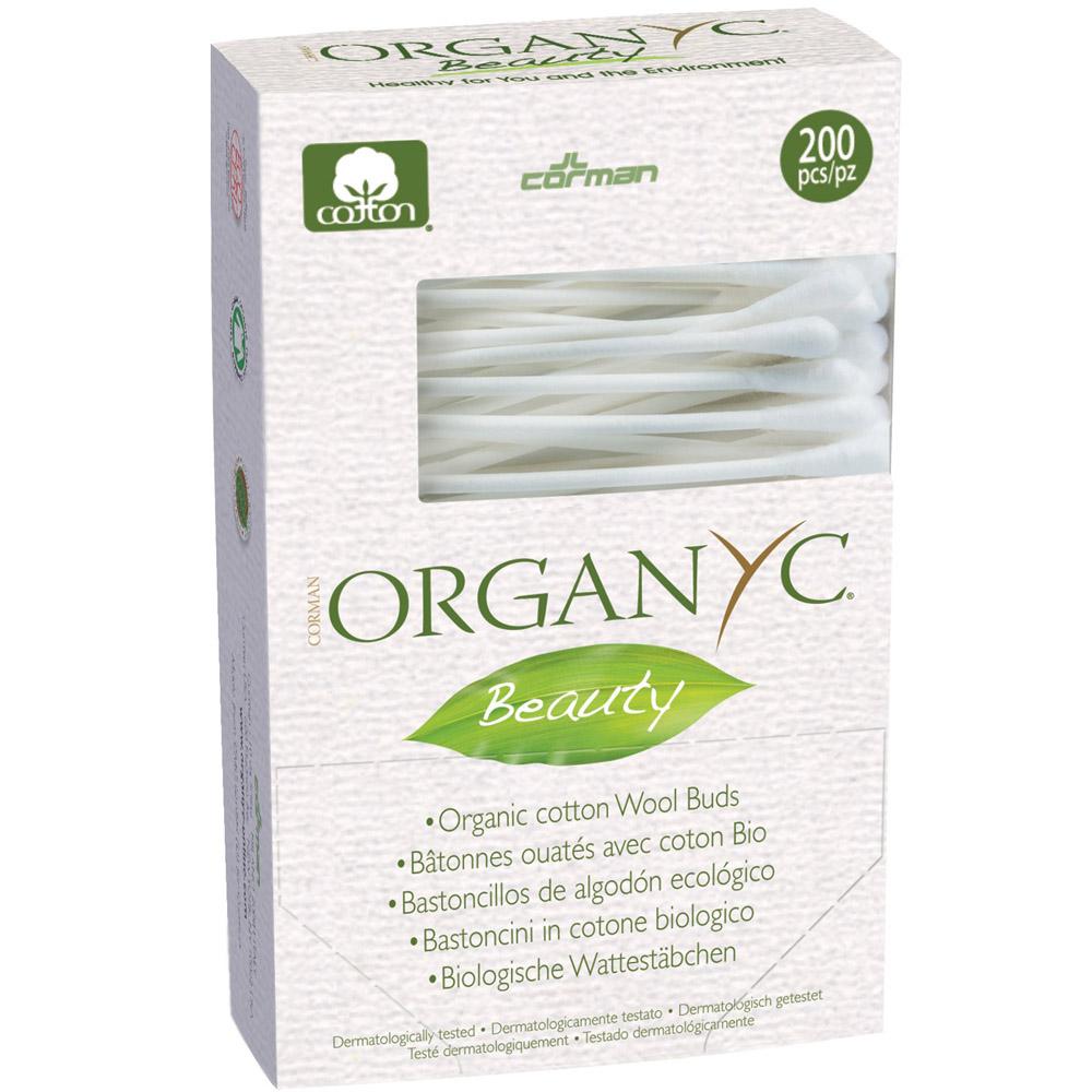 Ватные палочки Organyc 200 шт<br>