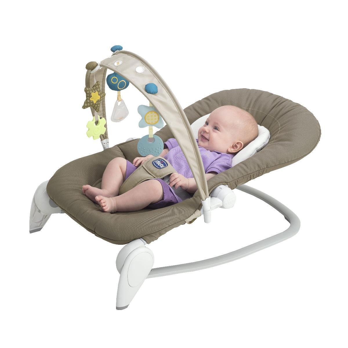 Кресло-качалка Chicco Hoopl Baby Natural