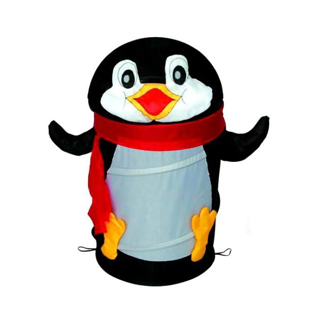 Корзина для игрушек Amalfy Пингвин черный от Младенец.ru