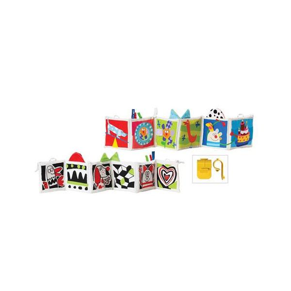 Развивающая игрушка Taf Toys Книжка Kooky с клипсами