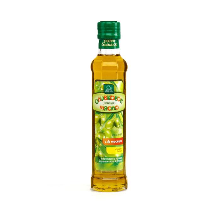 Масло Расти большой оливковое 250 мл С Omega 3 (с 6 мес)<br>