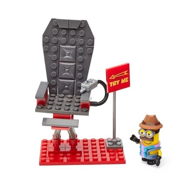 Игровой набор Mega Bloks Миньоны Шаткий стул