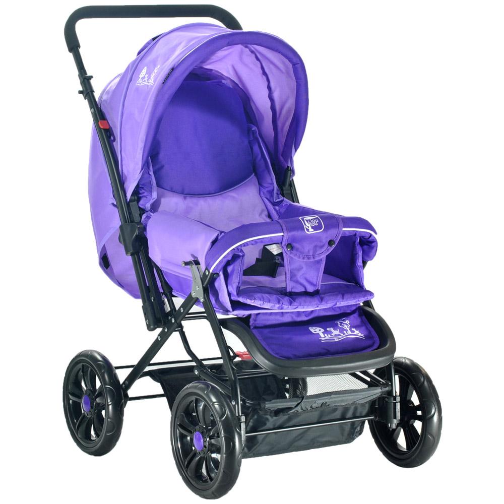Коляска прогулочная Lou Lou Jardin purple E-400 Luxe<br>