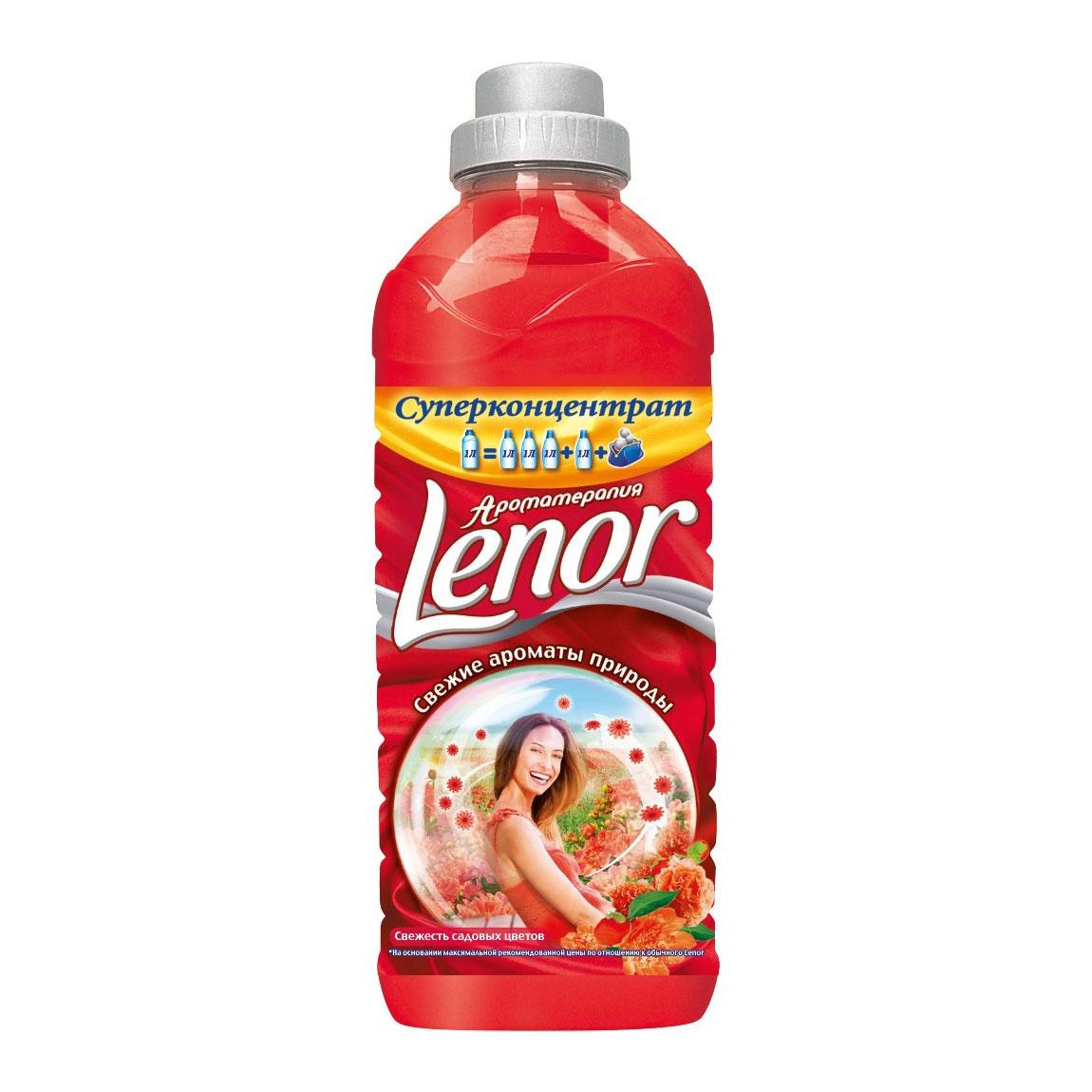 Кондиционер для белья LENOR (концентрированный) 1 л Свежесть садовых цветов<br>