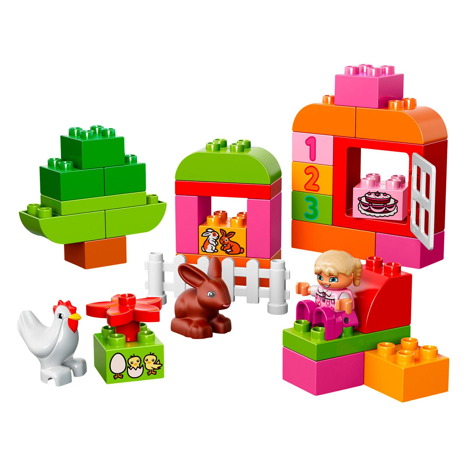 Конструктор LEGO Duplo 10571 Лучшие друзья: курочка и кролик<br>