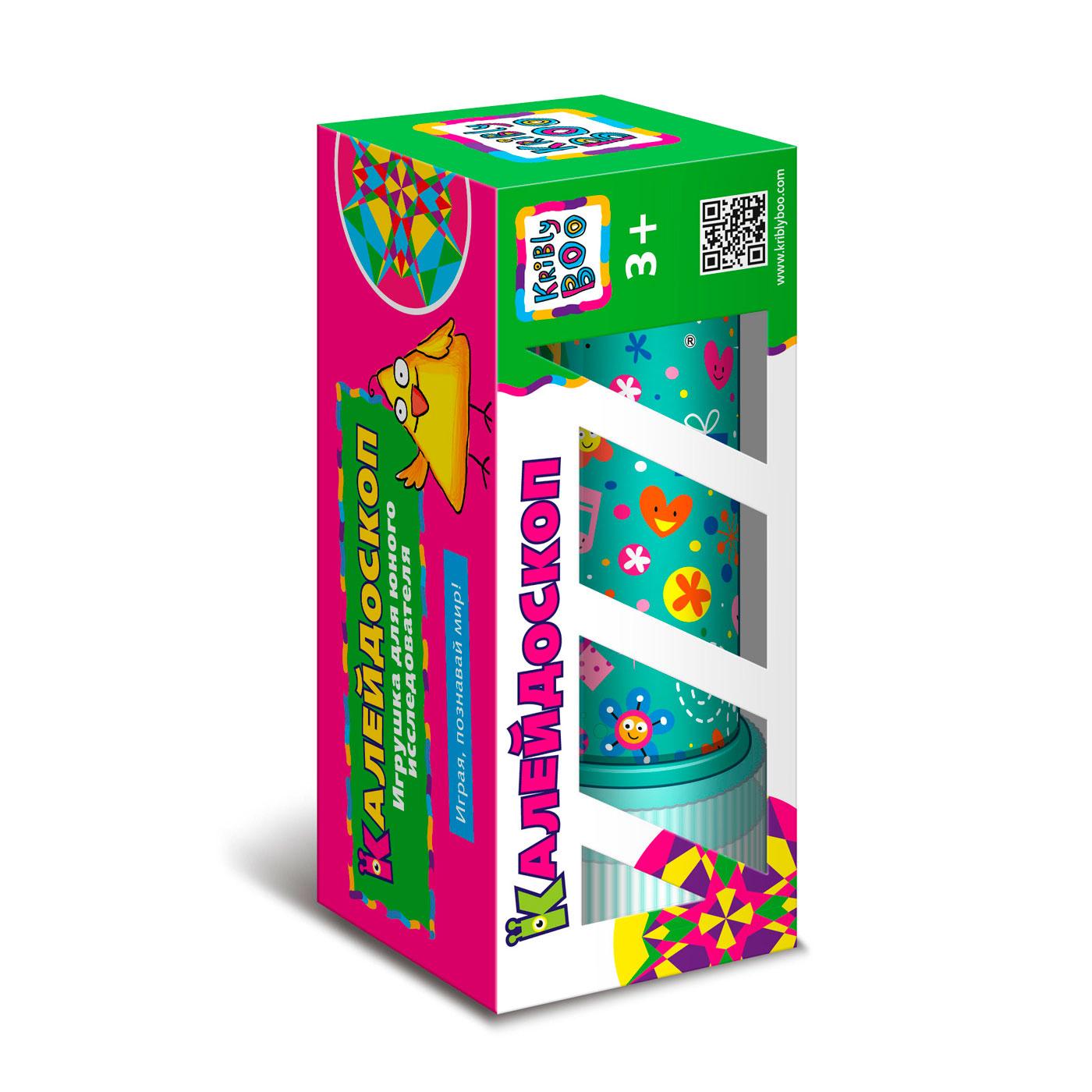 Игрушка для юного исследователя Kribly Boo Калейдоскоп<br>