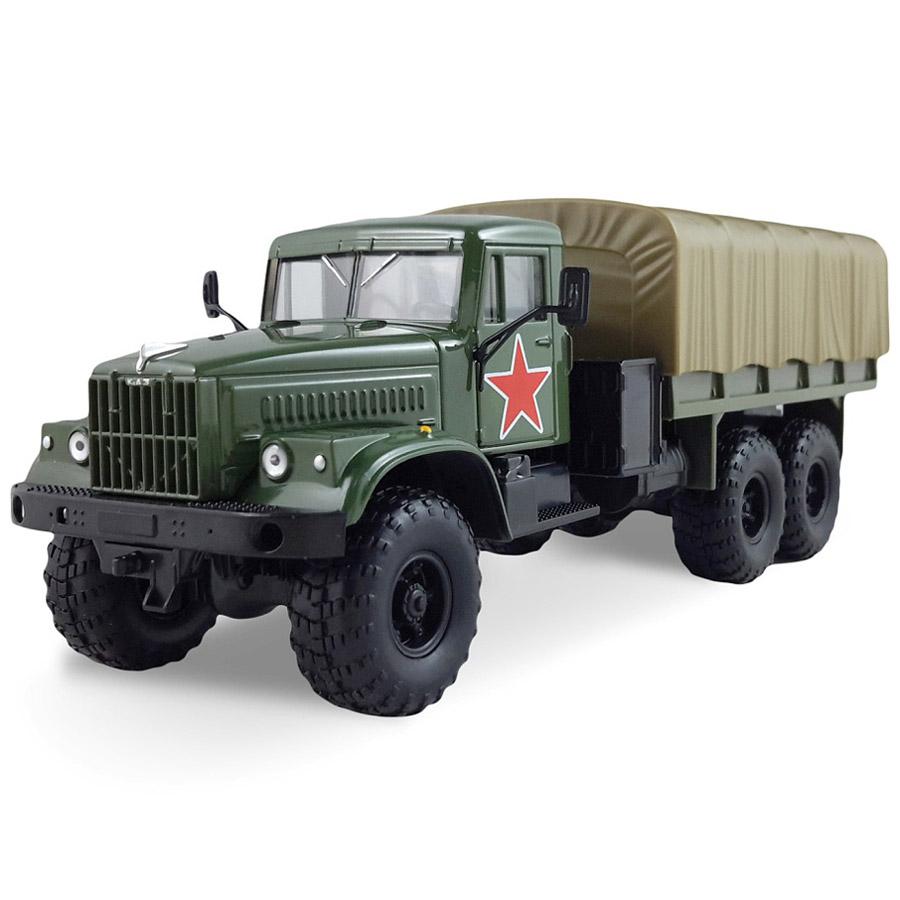 Машинка Autotime KRAZ-255B армейская<br>