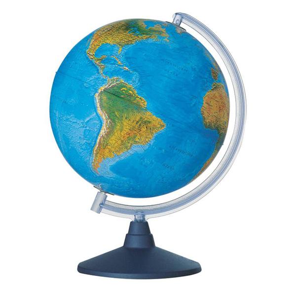 Глобус NOVA RICO ELITE диаметр 25 см подсветка, пластиковая подставка и меридиан<br>