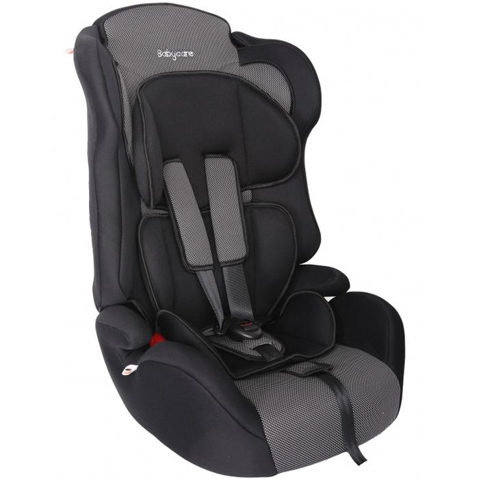 Автокресло Baby Care BC-513 Люкс Жирафик Карбон Серый<br>