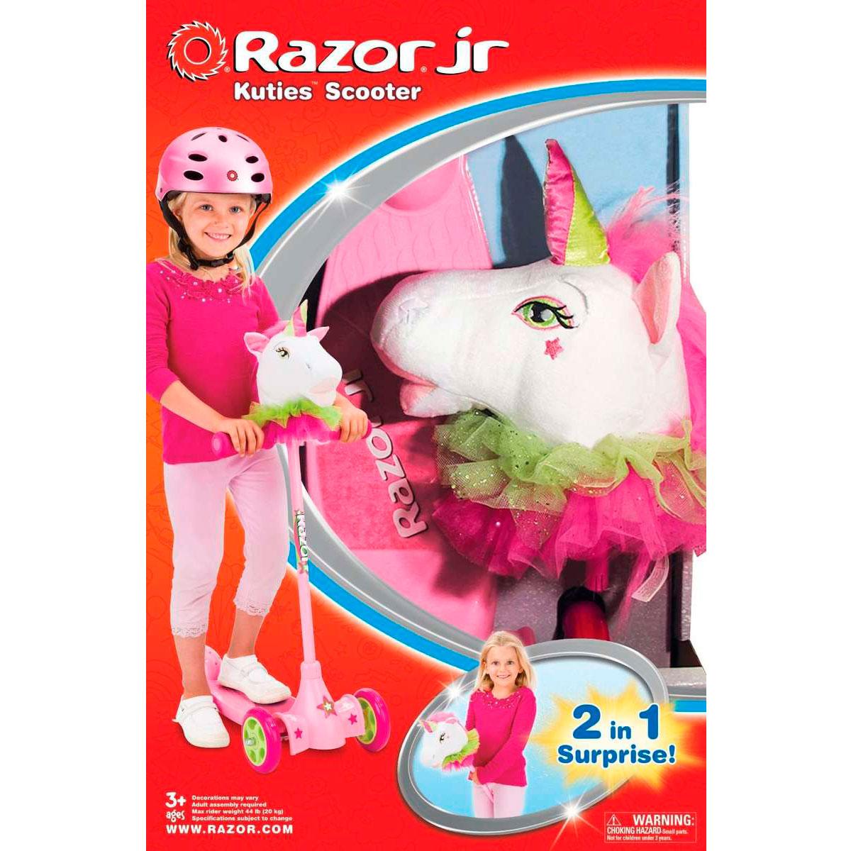 Самокат и игрушка для детей 2 в 1 Razor Kuties Unicorn<br>
