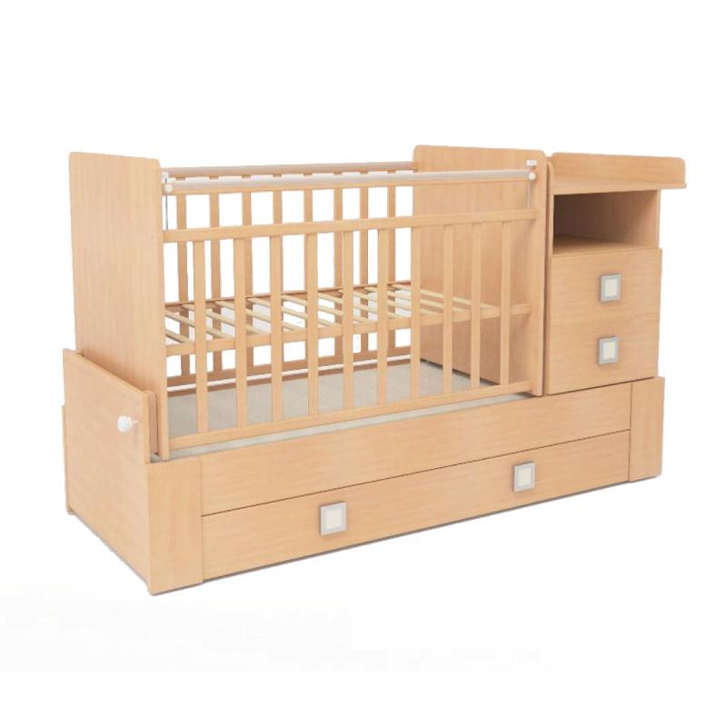 Кроватка-трансформер СКВ компани 83003 Бук<br>