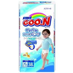 Трусики Goon для мальчиков 12-20 кг (38 шт) Размер BIG
