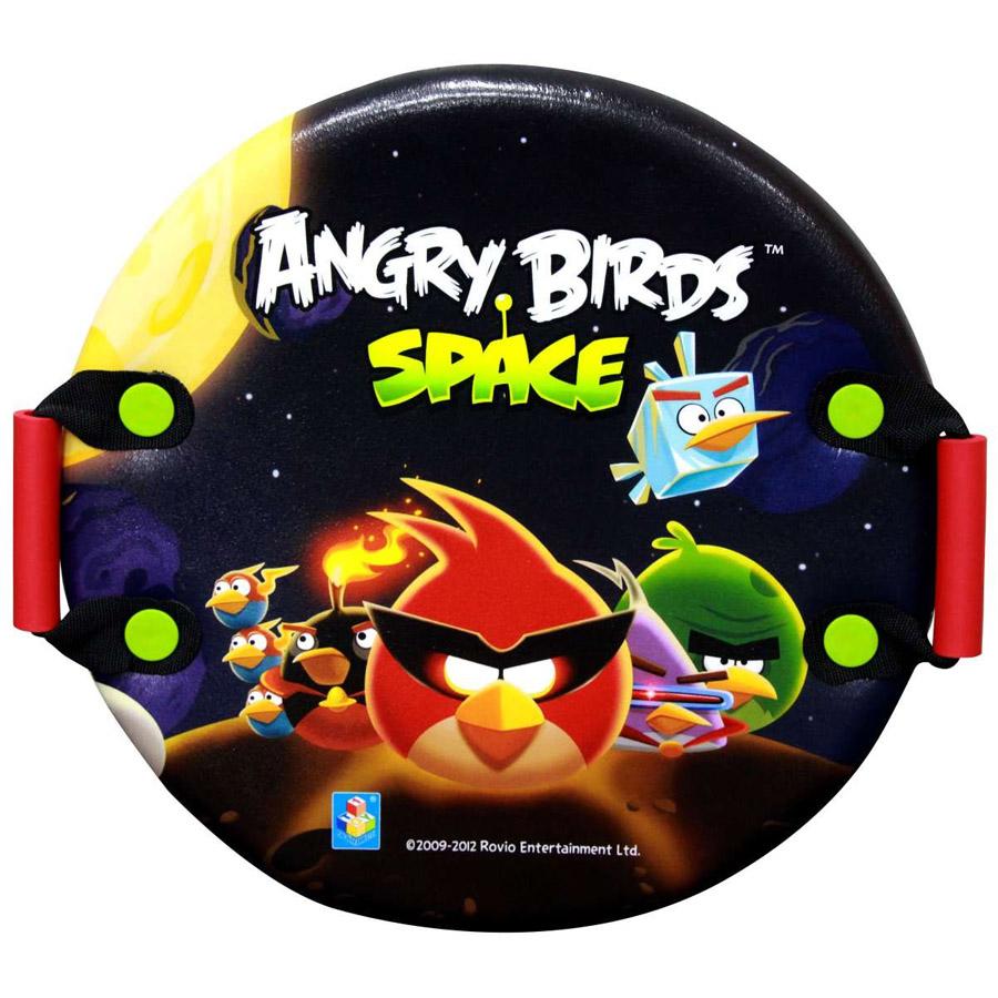 Ледянка 1toy Angry birds круглая с плотными ручками 54 см<br>