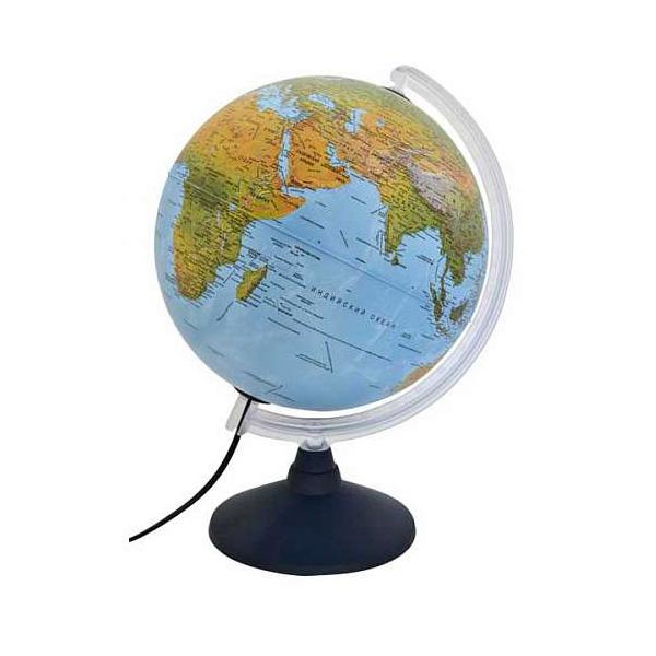 Глобус NOVA RICO ELITE диаметр 30 см подсветка пластиковая подставка и меридиан