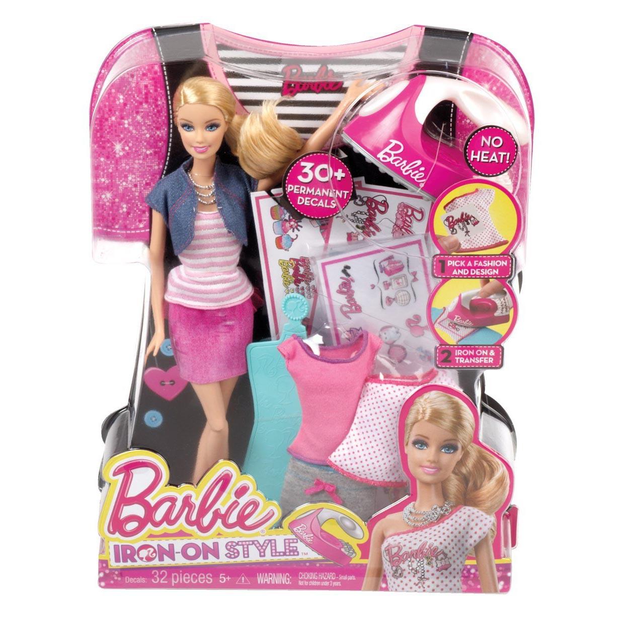 Кукла Barbie + набор аксессуаров Создай свой дизайн