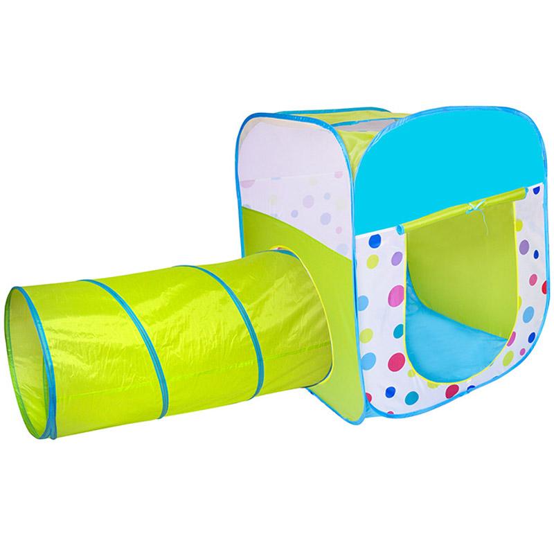 Игровой Дом Alis Конфети с шарами 100шт Квадрат+Туннель CBH-29<br>