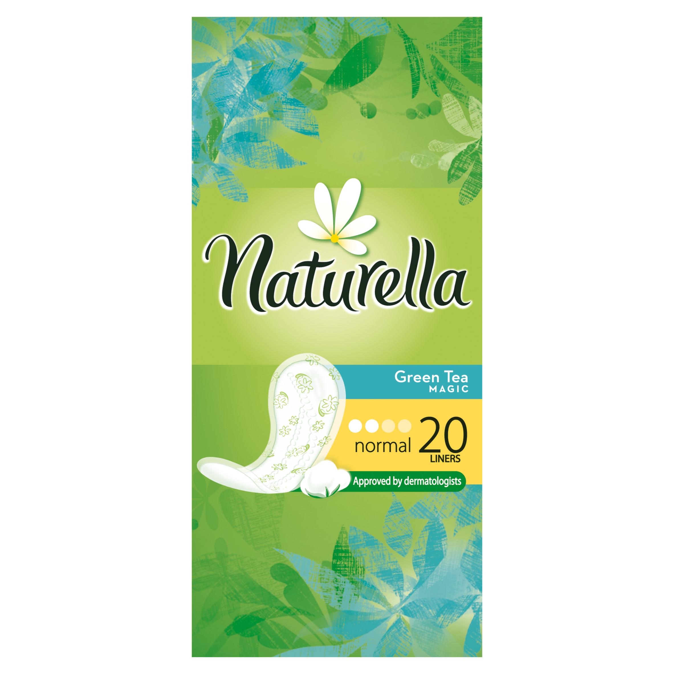 Прокладки гигиенические Naturella ежедневные Normal Green Tea Magic 20Шт.<br>