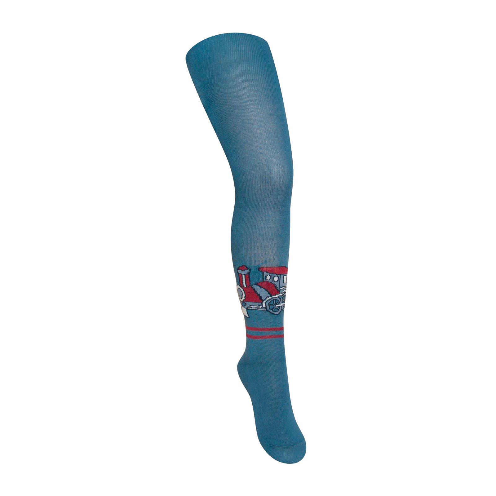 Колготки Para Socks с рисунком K1D11 р 86-92 джинсовый<br>