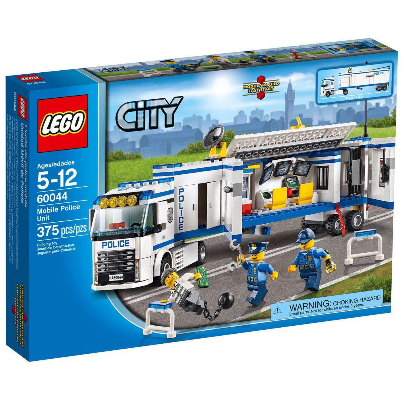 Конструктор LEGO City 60044 Выездной отряд полиции<br>