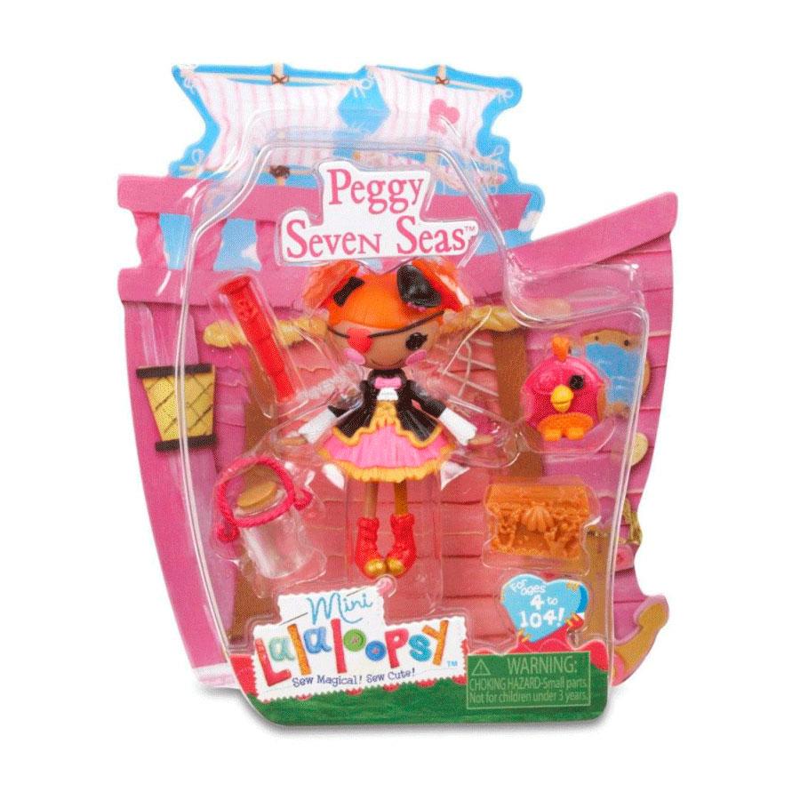 Кукла Mini Lalaloopsy с аксессуарами Peggy Seven Seas