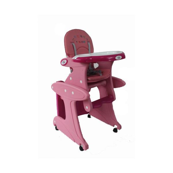 Стул + стол трансформер Tizo HC-123 Розовый<br>